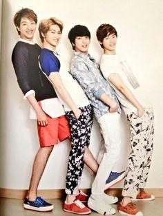 #cnblue #fnc #yonghwa #jonghyun #minhyuk #jungshin [SCAN] the FNC No.3 CNBLUE