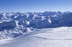 De pistes van #Tignes, Frankrijk. http://www.snowx.nl