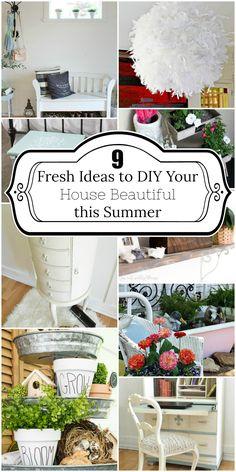 9 Fresh Ideas to DIY