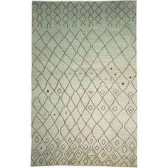 New Contemporary Pakistan Moroccan 65306 - Area Rug area rug