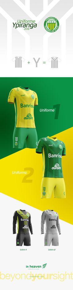 O Ypiranga Futebol Clube estreou a temporada 2016 de roupa nova, e dessa vez também entramos em campo, com a criação dos novos uniformes. Agora é só torcer pro Canarinho voar alto!