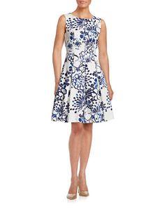 Palm Print Halter Dress | Hudson's Bay