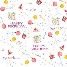 Susan Branch | New Birthday Fabric