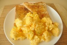 Buttery Microwave Scrambled Eggs for Two from Food.com:   I came across this recipe over 10 years ago when I first learned I was diabetic. It's quick and tasty.