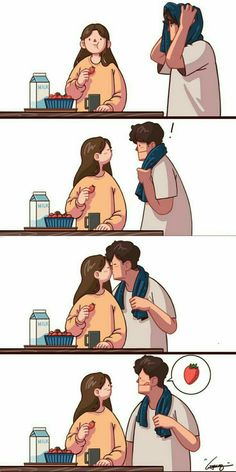 25 Ideas Quotes Funny Couple Life For 2019 Cute Couple Comics, Couples Comics, Couple Cartoon, Funny Couples, Cute Comics, Anime Couples, Art Love Couple, Cute Couple Drawings, Beautiful Couple