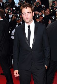 Robert Pattinson in Christian Dior at the On the Road Premiere--Cannes 2012