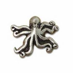 Big Sky Hardware Animal Octopus Cabinet Knob Pewter