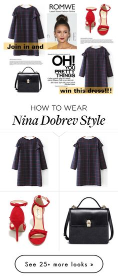 """Win Romwe dress!! Link in the description!!"" by jasmina-fazlic on Polyvore featuring Qupid"
