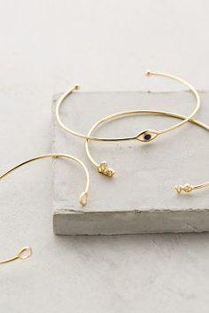 Anthropologie Cantora Bracelet Set (cement block display idea ... use a trivet or cupholder)