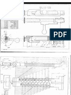 Firearms - Blueprint - Owen MK II, HR Reising Submachine Guns and Springfield Rifle Rifles, Gun Shooting Range, 1911 Pistol, Colt 1911, Blueprint Drawing, Rifle Targets, Remington 700, Homemade Weapons, Submachine Gun