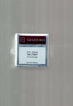 Giazurro Anti-Aging DAY Cream Made in Israel - With RENOVAGE & SYN-COLL for all skin types - 1.69 fl.oz. . $39.95