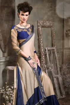 # designer # party # sarees @ http://zohraa.com/beige-faux-georgette-saree- z2803p1011-16.html # celebrity # zohraa # onlineshop # womensfashion # womenswear # bollywood #look # diva #party # shopping # online # beautiful # beauty #glam # shoppingonline # styles # stylish # model # fashionista # women # lifestyle #fashion # original # products # saynotoreplicas