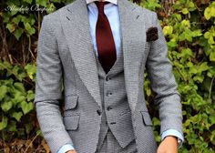 Winter three piece suit by Absolute Bespoke