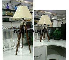 Modern Designer Tripod Floor Lamp for Living Room (Set of Two) by Nauticalmart