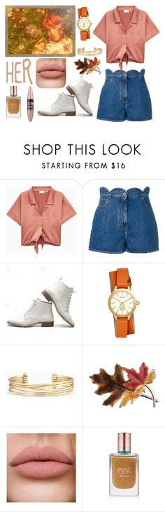 """""""BTS (방탄소년단) - Outro : Her"""" by slmsna ❤ liked on Polyvore featuring beauty, Valentino, Tory Burch, Stella & Dot, Anne Klein, Estée Lauder and Maybelline"""