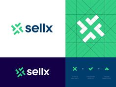 Sellx - Approved Logo Design designed by Jeroen van Eerden (. Connect with them on Dribbble; the global community for designers and creative professionals. Modern Logo Design, Graphic Design Branding, Identity Design, Logo Branding, Brainstorm, Corporate, Emblem, Template, Health Logo