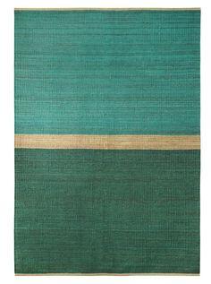 """Le modèle """"Field"""" est un tapis de chanvre souple fabriqué en Suède."""