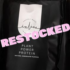 Our Chocolate Plant Power Protein is now restocked (both bags and samples) 🤍 Vanilla Plant Protein will be restocked early next week - we are so sorry for the delay! Plant Based Protein Powder, Plant Based Diet, Vanilla Plant, Natural Protein, Protein Power, Plant Protein, Chocolate Flavors, Vegan, Plants