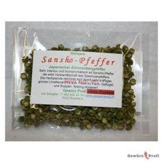 Sanshopfeffer  10g (Japanischer Zitronenbergpfeffer) 13.50