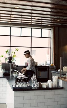 Handsome Coffee Roasters, downtown LA