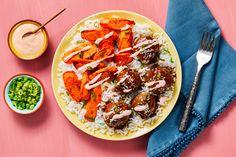 Share me on Pinterest Bulgogi Sauce, Bulgogi Recipe, Hello Fresh Recipes, Meatball Recipes, Beef Recipes, Yummy Recipes, Chicken Recipes, Recipies, Bon Appetit