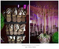www.lovelypeonies.com - Photographe de mariage au Fiddler Lake Resort - Bar à  flip flop