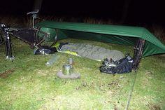 #Bike bivvy setup 2                                                       …
