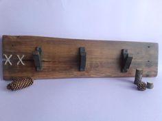 Wood Hanger, Wall Hanging, Handmade Wood Hanger, Wood Hook, Furniture, Clothing Storage, Rustic Rack