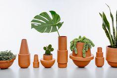 Arizona Stoneware collection via Audrey Jeanne   blog: Sélection de pots pour plantes et cactus