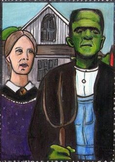American Gothic Parody Ideas  : More Pins Like This At FOSTERGINGER @ Pinterest
