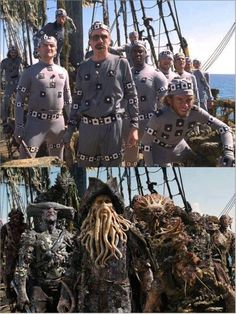 Pirates of the Caribbean motion capture.