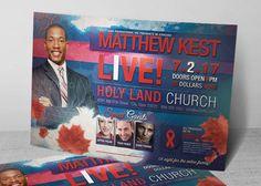 Gospel Concert Flyer Template is customized for the Gospel Music ...