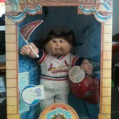 1986 cabbage patch kid, st Louis cardinal