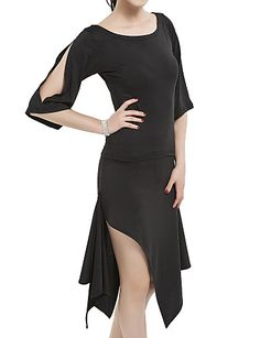 ballroom dames polyester latin dance outfit - EUR € 24.74