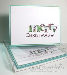 Creativity Within : More simple Christmas Cards