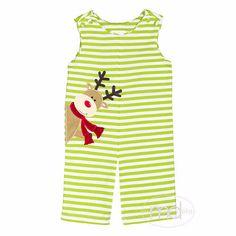 b8312dfd23c Zuccini Reindeer Applique Boys Christmas Longall. Drake ChildChildren s  BoutiqueReindeerAppliqueDeer