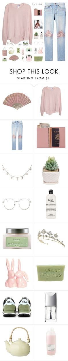 """""""one of a kind ♡"""" by my-pink-wings ❤ liked on Polyvore featuring Wilt, Bliss and Mischief, Royce Leather, Luna Skye, Topshop, philosophy, Chanel, Laura Mercier, NIKE and Christian Dior"""