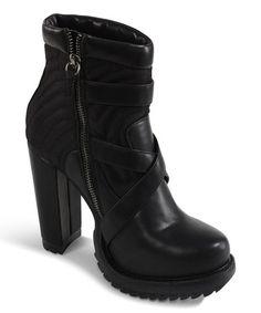 Loving this Black Geared Up Bootie on #zulily! #zulilyfinds