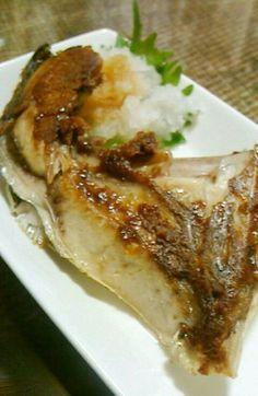 ぶりかまの塩焼き酒蒸し by ☆熊八☆ [クックパッド] 簡単おいしいみんなのレシピが258万品