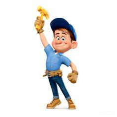 Fix-it-Felix Jr., from Wreck-it-Ralph  I can fix it!