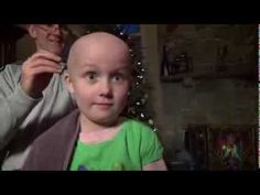 Hope's Hair: 7-year-old old cancer fighter Hope shaves her head