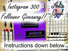 ONLY 34 HOURS LEFT! THE GIVEAWAY IS STILL GOING! For my 300 followers Instagram celebration I am holding a giveaway that will span through all social medias and a 1 winner for Instagram Tumblr Twitter and Facebook!  So 4 pieces of art!  . .  CONTEST ENDS on October the 27th at MIDNIGHT CT!  RULES: all you have to do is BE A FOLLOWER REPOST this picture and LIKE and COMMENT below! You can also quadruple up if you do this on other the other social medias. . . UNITED STATES: You will get a…