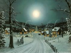 Christmas Village Ideas | Christmas waves a magic wand over this world, and behold, everything ...