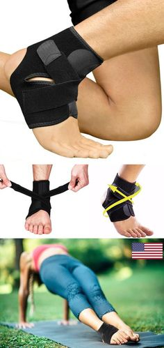 5977ab678b Ankle Support Brace with Adjustable Stabilizer Straps
