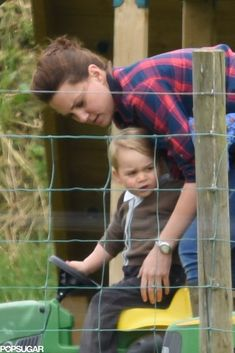 Exclusive: Kate Middleton and Prince George Keep the Cute Park Pictures Coming!: Kate Middleton and Prince George have been spending more and more sweet quality time together!