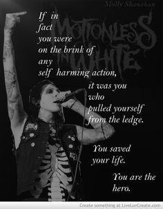 Chris Motionless | Chris Motionless Quote Picture by Thatscalledyes - Inspiring Photo