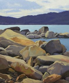 Contemporary landscape paintings by Nevada artist Craig Mitchell represented by Stremmel Gallery in Reno, Nevada NV and Bolam Gallery in Truckee, California CA. Subjects include Lake Tahoe, high Sierra, Nevada desert, Las Vegas…..