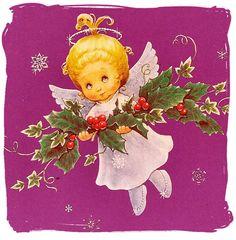 Anjinhos de natal para decoupage ou pintura em madeira   Imagens para Decoupage
