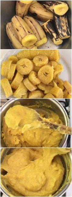 Purê matador de fome ensinado por marido de Ivete é bomba de saciedade para secar! (veja a receita e aprenda como fazer) #purê #ivete #banana #receita #gastronomia #culinaria #comida #delicia #receitafacil