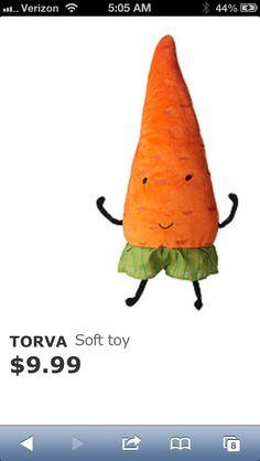 Ikea Torva Carrot ($10).